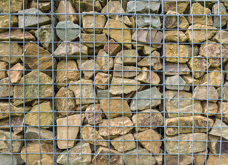Rock Wire Fence Material