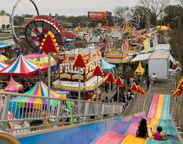 Carnival Games, Rides  and Fun