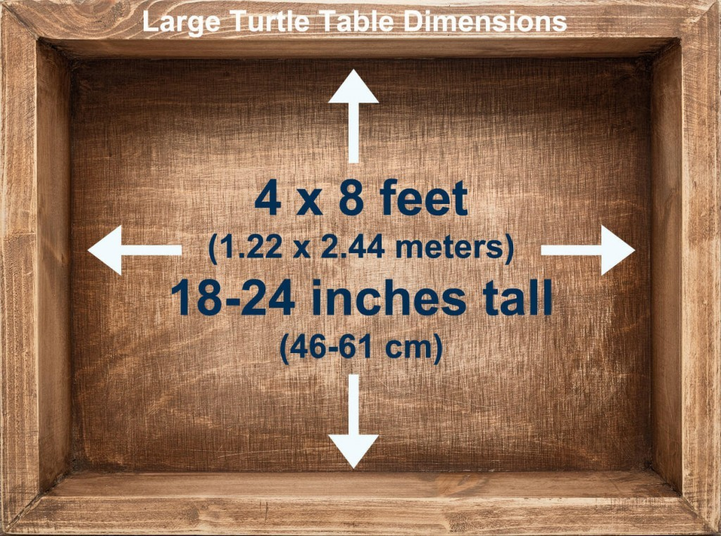 Turtle Table Dimensions
